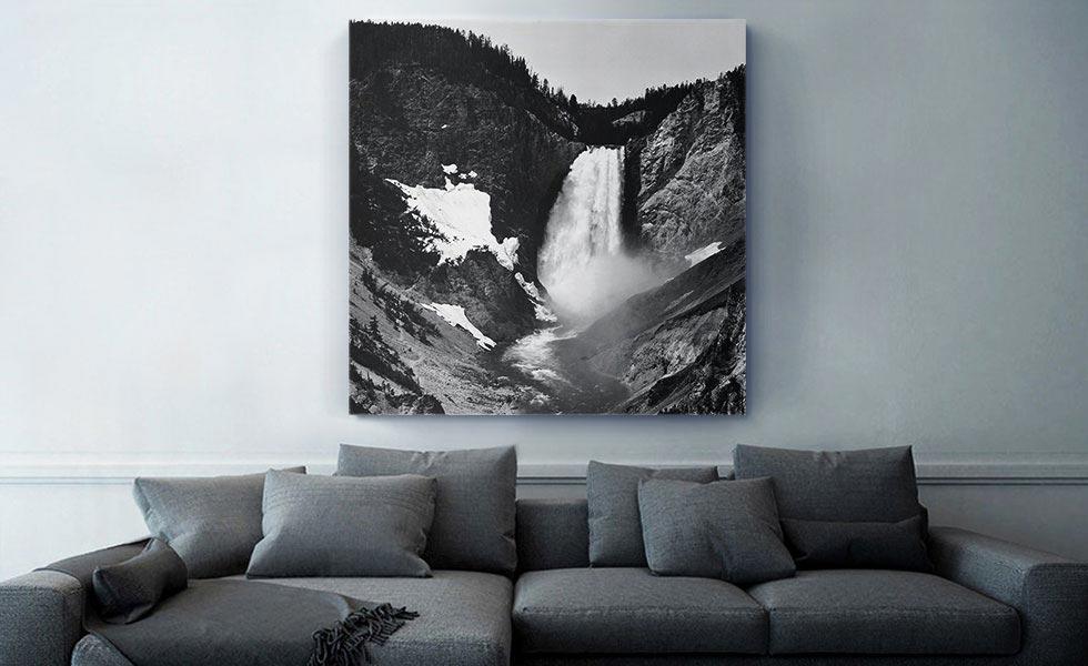 Yellowstone Falls - Yellowstone - Wyoming