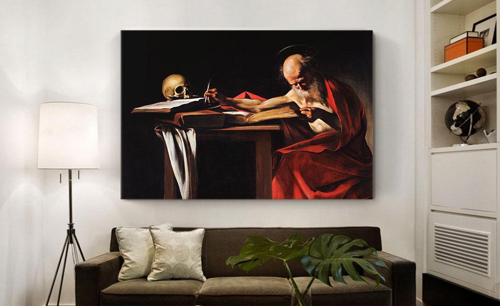 Saint Jerome Writing 1606