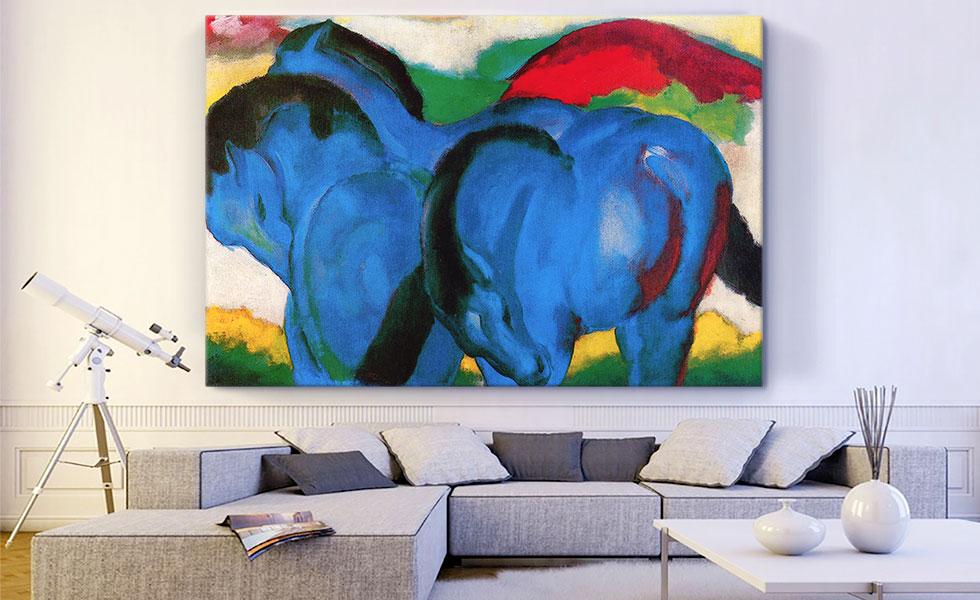 The Large Blue Horses 1911