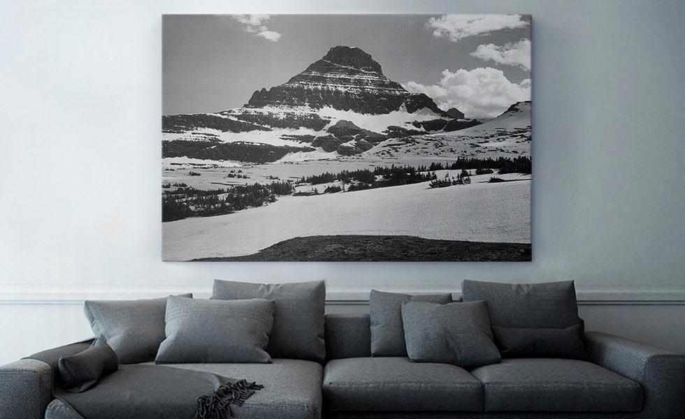 Mountains - From Logan Pass - Glacier National Park - Montana