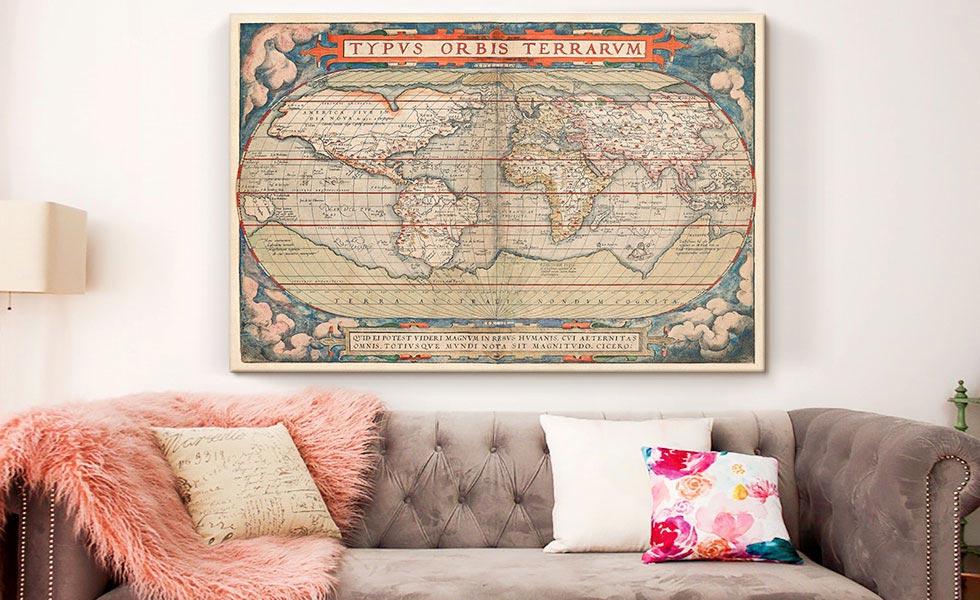 World Map 1579