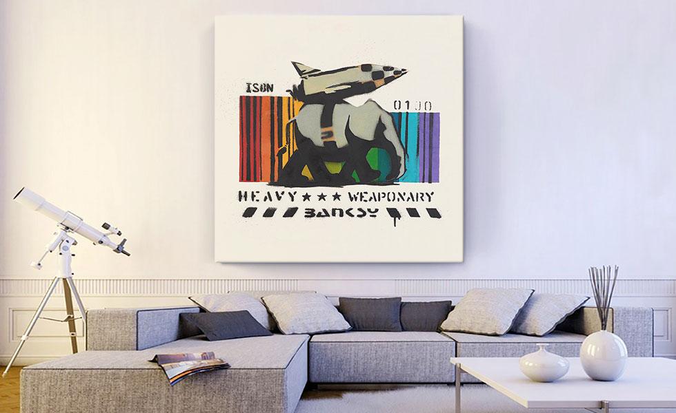 Heavy Weaponry Rocket Bomb Elephant